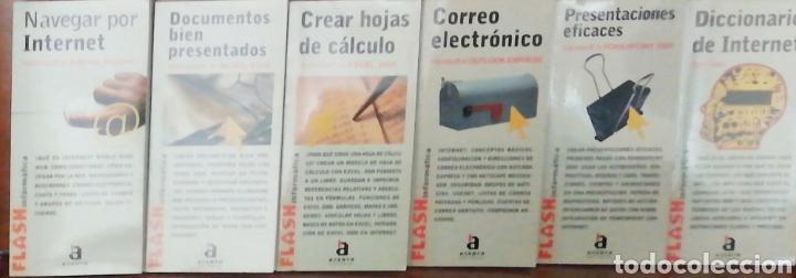 Libros: COLECCION FLASH INFORMATICA (6 TITULOS) - Foto 3 - 240409630