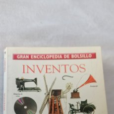 """Libros: GRAN ENCICLOPEDIA DE BOLSILLO """" INVENTOS """" TIEMPO. Lote 243839945"""