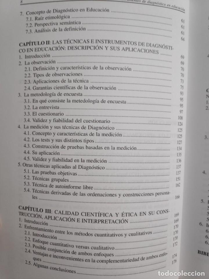 Libros: Ediciones Aljibe Técnicas e instrumentos de diagnóstico en educación - Foto 3 - 243911575