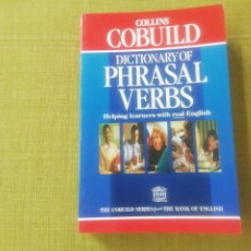 Libros: DICTIONARY OF PHRASAL VERBS. COLLINS COBUILD. Lote 244867270