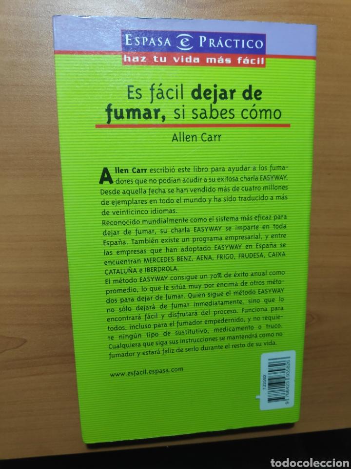 Libros: Es fácil dejar de fumar si sabes como - Foto 2 - 245435040