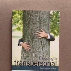 Libros: PSICOLOGÍA TRANSPERSONAL. Lote 246451135