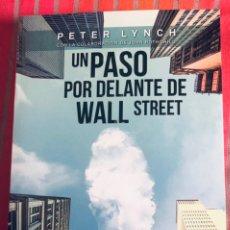 Libros: UN PASO POR DELANTE DE WALL STREET. Lote 246472070