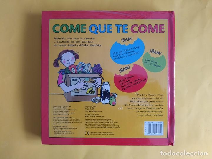 Libros: COME QUE TE COME - UNA MARAVILLA DE LIBRO CON DESPLEGABLES, LE SORPRENDERÁ - NUEVO PRECINTADO - Foto 3 - 262301375