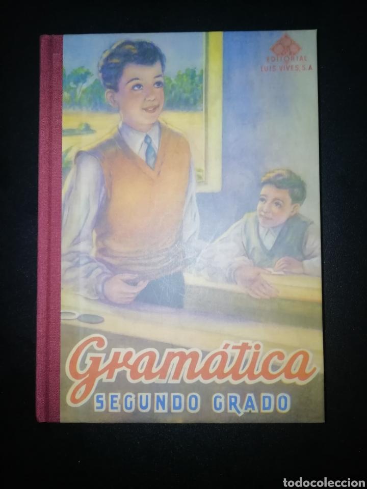 GRAMÁTICA. SEGUNDO GRADO. EDELVIVES. EDITORIAL LUIS VIVES 1947 (REEDICIÓN) (Libros Nuevos - Educación - Aprendizaje)