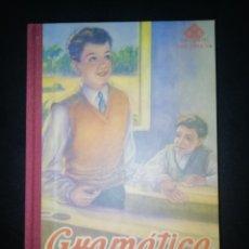 Livros: GRAMÁTICA. SEGUNDO GRADO. EDELVIVES. EDITORIAL LUIS VIVES 1947 (REEDICIÓN). Lote 253094825