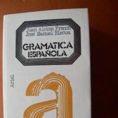 Libros: GRAMÁTICA ESPAÑOLA / JUAN ALCINA FRANCH - JOSÉ MANUEL BLECUA. Lote 253997795