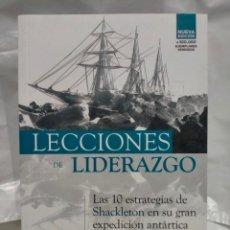 Libros: DENNIS N.T. PERKINS .LECCIONES DE LIDERAZGO.(LA EXPEDICIÓN ANTÁRTICA DE SHACKLETON). DESNIVEL. Lote 254096100