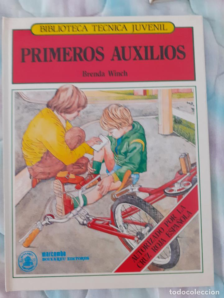 BIBLIOTECA TÉCNICA JUVENIL - PRIMEROS AUXILIOS - BRENDA WIMCH (Libros Nuevos - Educación - Aprendizaje)