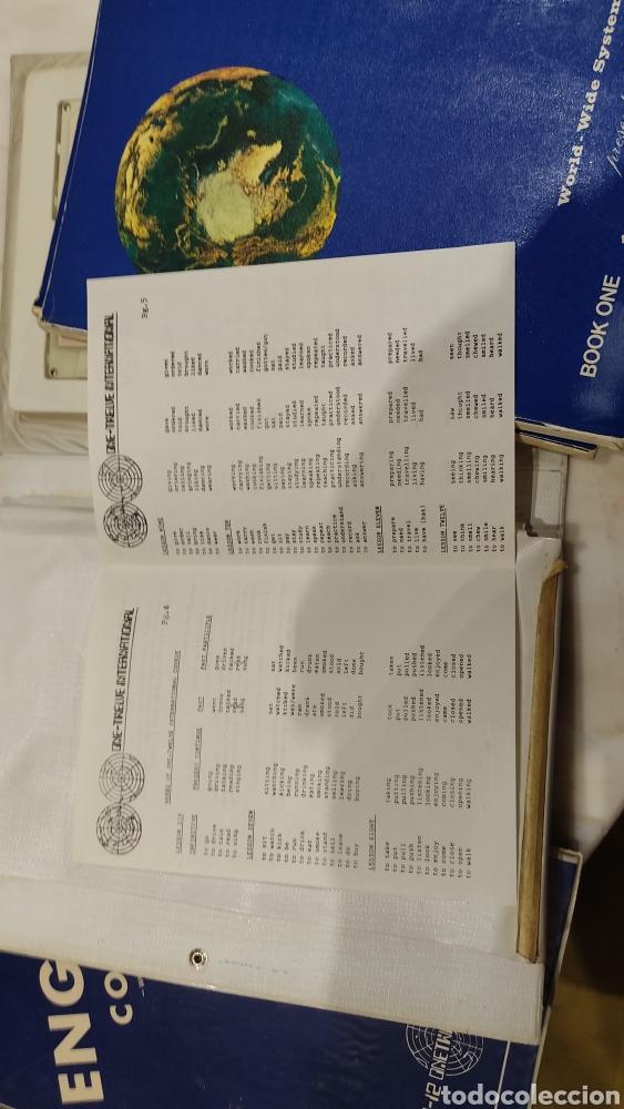 Libros: English course world wide system. Curso de inglés. Curso de inglés. Cintas de cassette más libros. - Foto 5 - 261784720