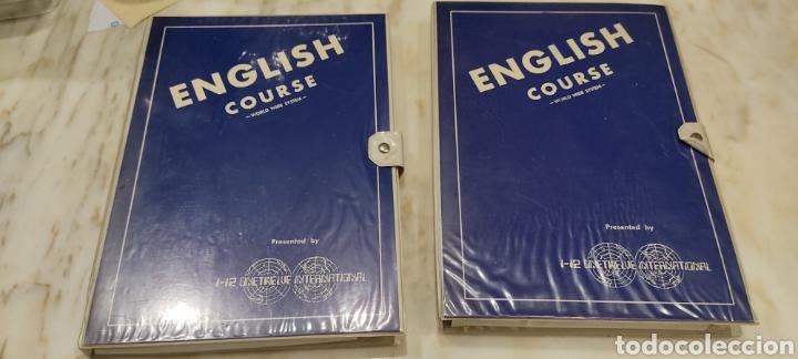 ENGLISH COURSE WORLD WIDE SYSTEM. CURSO DE INGLÉS. CURSO DE INGLÉS. CINTAS DE CASSETTE MÁS LIBROS. (Libros Nuevos - Educación - Aprendizaje)