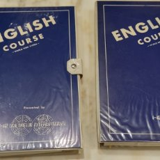 Livros: ENGLISH COURSE WORLD WIDE SYSTEM. CURSO DE INGLÉS. CURSO DE INGLÉS. CINTAS DE CASSETTE MÁS LIBROS.. Lote 261784720