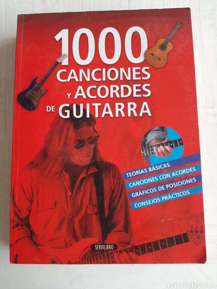 1000 CANCIONES Y ACORDES DE GUITARRA (Libros Nuevos - Educación - Aprendizaje)