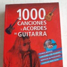 Libros: 1000 CANCIONES Y ACORDES DE GUITARRA. Lote 261977955