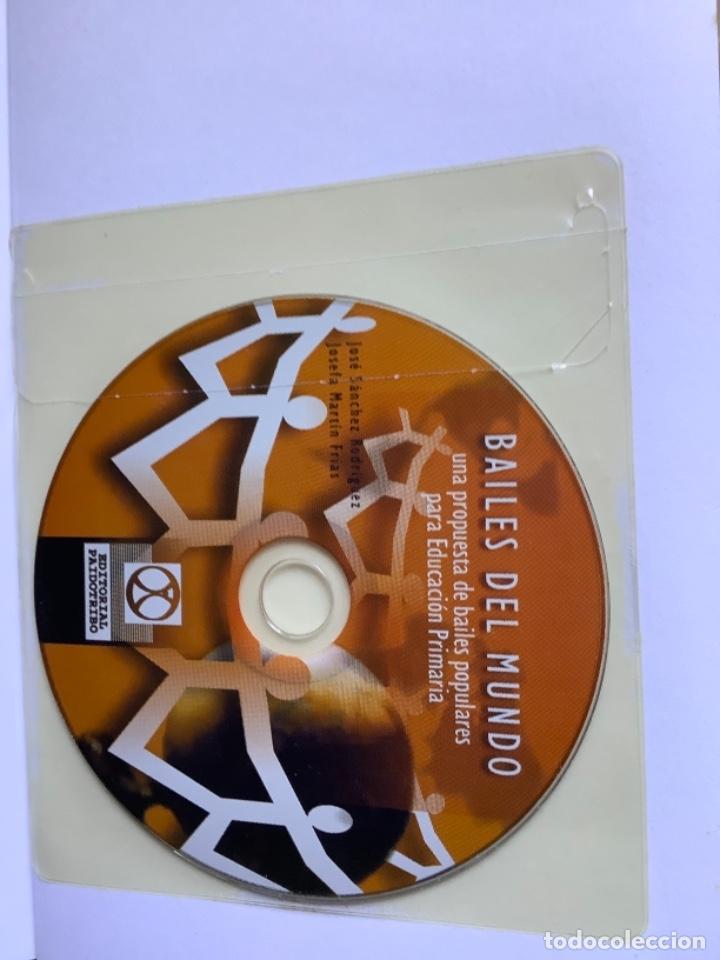 Libros: Libro y CD. Bailes del mundo - Foto 4 - 262262580