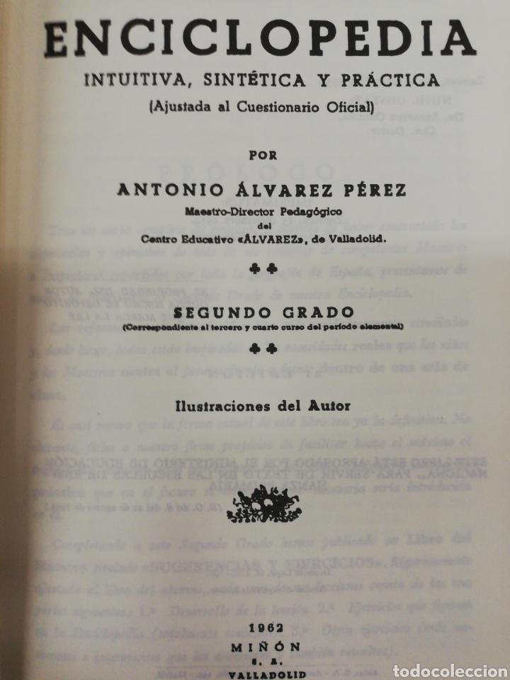 Libros: ENCICLOPEDIA ÁLVAREZ SEGUNDO Y TERCER GRADO - Foto 3 - 262741340