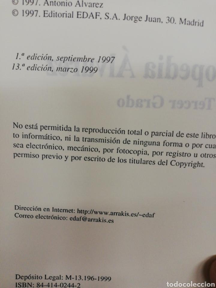 Libros: ENCICLOPEDIA ÁLVAREZ SEGUNDO Y TERCER GRADO - Foto 5 - 262741340