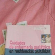 Libros: LINRO CUIDADOS DE ENFERMERÍA GERIÁTRICA EN RESIDENCIAS ASISTIDAS 2006. Lote 263566100
