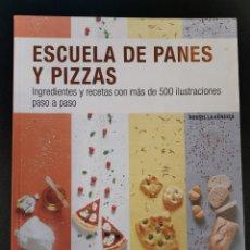 Libros: ESCUELA DE PANES Y PIZZAS. Lote 263684920