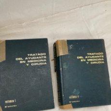 Livros: DOS VOLUMENES MEDICINA Y QUIRUGIA!. Lote 266270773