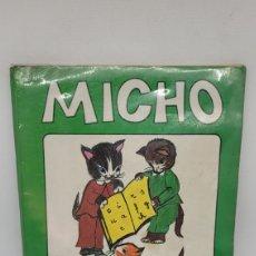 Libros: LIBRO MICHO 2. EDITORIAL BRUÑO. METODO DE LECTURA CASTELLANA. AÑOS 80.. Lote 267204884