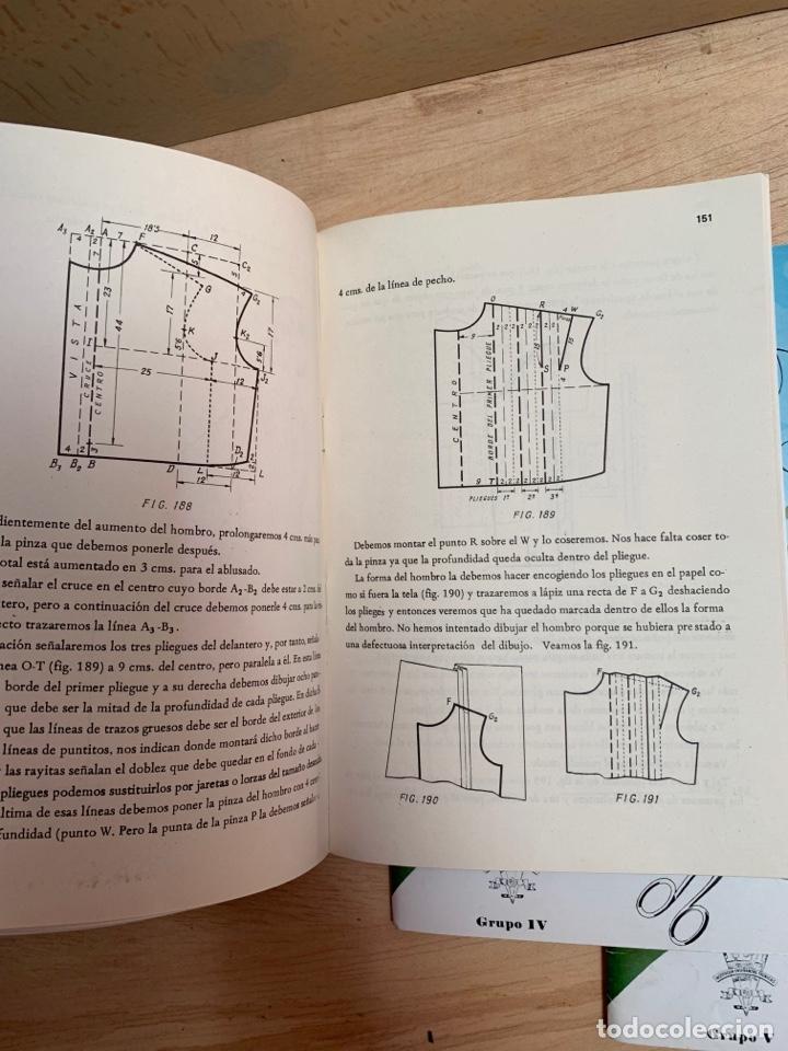 Libros: Curso de corte y confección IET en 5 tomos - Foto 8 - 268881054