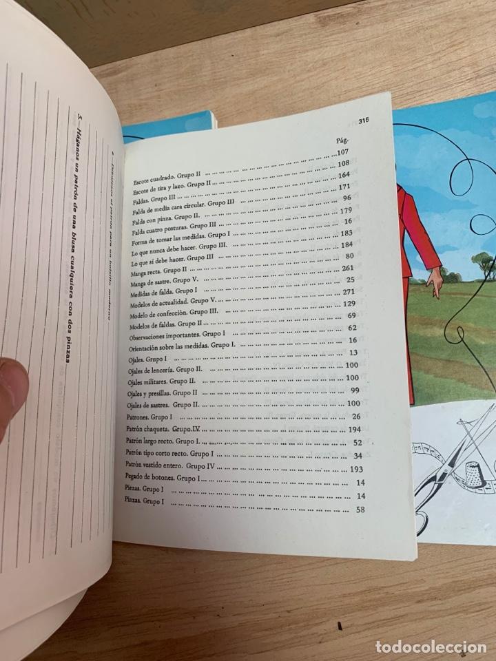Libros: Curso de corte y confección IET en 5 tomos - Foto 15 - 268881054