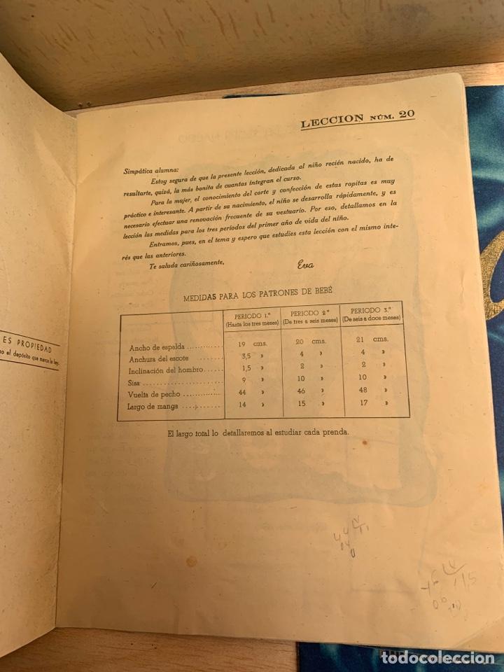 Libros: EVA - Cursos de corte y confección por correspondencia - Academia AEI, San Sebastián. - Foto 4 - 268882619