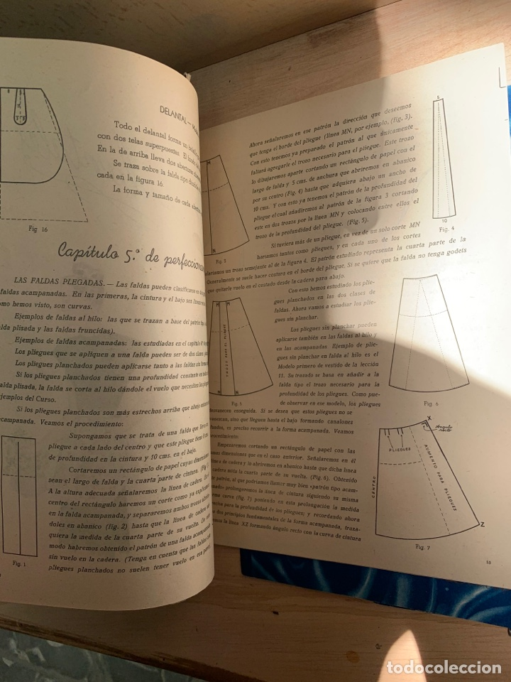 Libros: EVA - Cursos de corte y confección por correspondencia - Academia AEI, San Sebastián. - Foto 9 - 268882619
