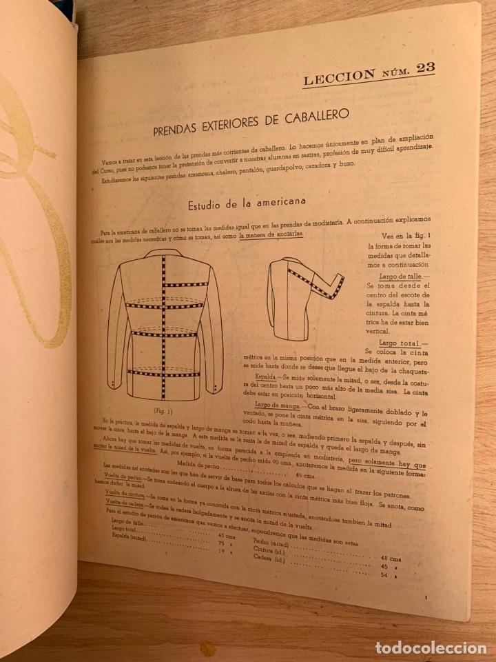 Libros: EVA - Cursos de corte y confección por correspondencia - Academia AEI, San Sebastián. - Foto 12 - 268882619