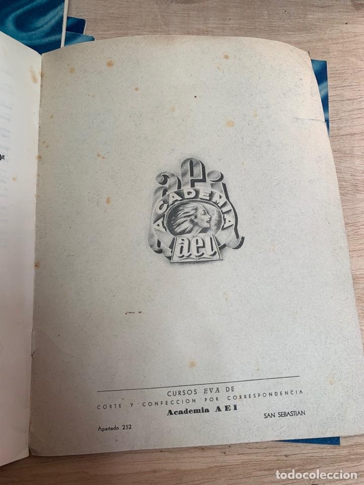 Libros: EVA - Cursos de corte y confección por correspondencia - Academia AEI, San Sebastián. - Foto 14 - 268882619