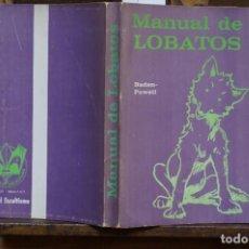 Libros: BADEN -POWELL. MANUAL DE LOBATOS.. Lote 269036639
