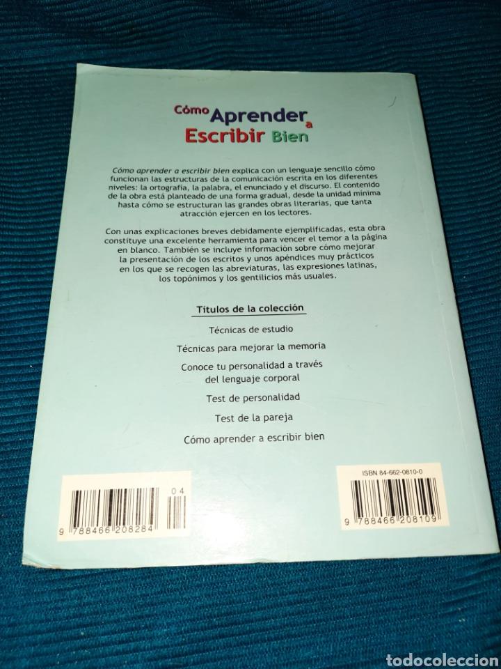 Libros: LIBRO , COMO APRENDER A ESCRIBIR BIEN , DANIEL RUIZ GÓMEZ, EDITORIAL LIBSA, 2004 - Foto 5 - 269976748