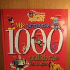 Libros: MIS PRIMERAS 1000 PALABRAS EN INGLÉS. Lote 270641483