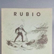Livros: CUADERNO RUBIO ESCRITURA VERTICAL Nº 4, COMPLETO, SIN USAR, DEPÓSITO LEGAL 1962. Lote 270993573