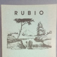 Livros: CUADERNO RUBIO ESCRITURA VERTICAL Nº 8, COMPLETO, SIN USAR, DEPÓSITO LEGAL 1962. Lote 270993598