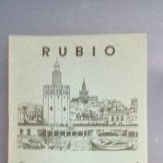 Livros: CUADERNO RUBIO ESCRITURA VERTICAL Nº 9, COMPLETO, SIN USAR, DEPÓSITO LEGAL 1962. Lote 270993608