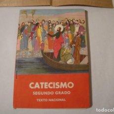 Libros: CATECISMO. SEGUNDO GRADO. TEXTO NACIONAL. AÑO 1958. EDITORIAL CATÓLICA, S.A. ESTÁ COMO NUEVO. Lote 271418003