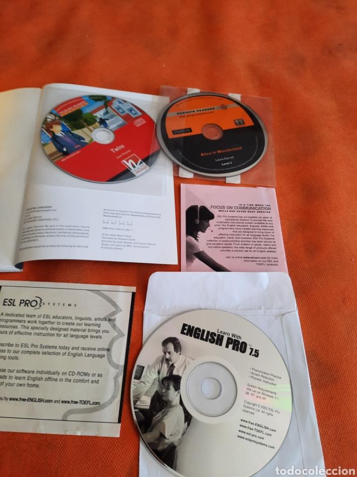 Libros: CURSO DE INGLES.LIBRO +CD Y ALICE IN WONDERLAND CD BY PENGUIN READERS.LEVEL 2.APRENDA INGLES - Foto 2 - 273084673