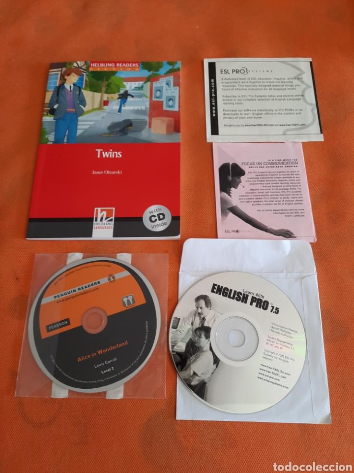 CURSO DE INGLES.LIBRO +CD Y ALICE IN WONDERLAND CD BY PENGUIN READERS.LEVEL 2.APRENDA INGLES (Libros Nuevos - Educación - Aprendizaje)