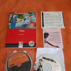 Libros: CURSO DE INGLES.LIBRO +CD Y ALICE IN WONDERLAND CD BY PENGUIN READERS.LEVEL 2.APRENDA INGLES. Lote 273084673