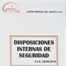 Libros: DISPOSICIONES INTERNAS DE SEGURIDAD. SECTOR TORRE.. Lote 273271398