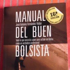 Libros: MANUAL DEL BUEN BOLSISTA. Lote 276682333
