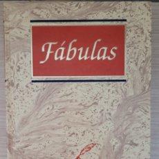Libros: FABULAS CULTURA Y LETRAS. Lote 277165538