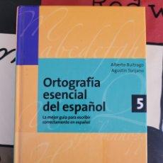 Libros: ORTOGRAFÍA ESENCIAL DEL ESPAÑOL 5. Lote 278585713