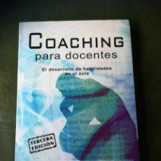 Libros: LIBRO COACHING PARA DOCENTES. Lote 286525423