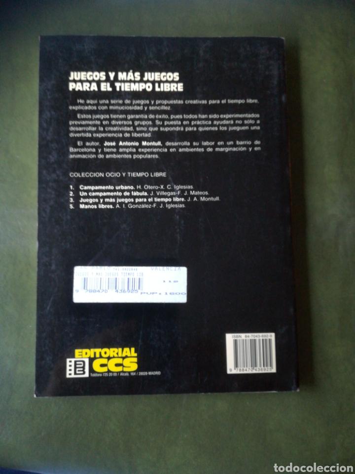 Libros: Libro Juegos para el tiempo libre - Foto 2 - 286526953