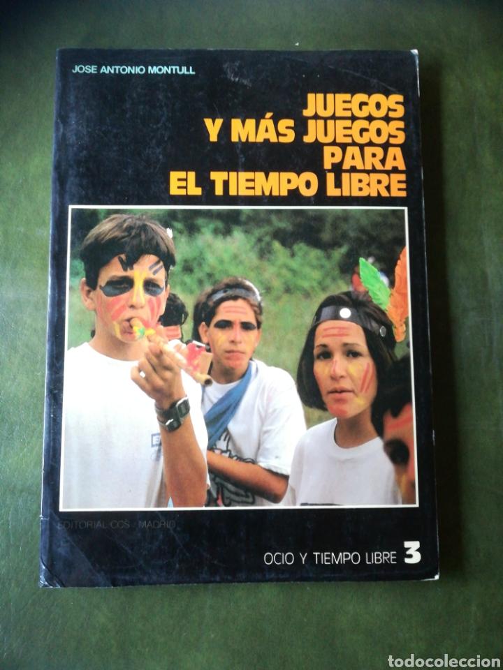 LIBRO JUEGOS PARA EL TIEMPO LIBRE (Libros Nuevos - Educación - Aprendizaje)