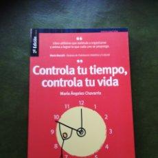 Libros: LIBRO CONTROLA TU TIEMPO. Lote 286528378
