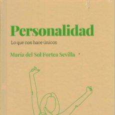 Libros: PERSONALIDAD. MARÍA DEL SOL FORTEA SEVILLA.. Lote 287849188